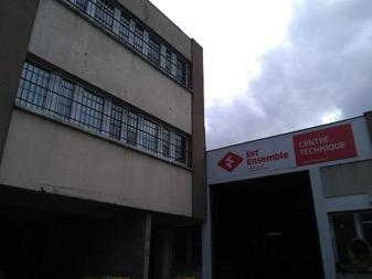 Visite CHSCT d_Est Ensemble à l_Unité Nord de la DPVD